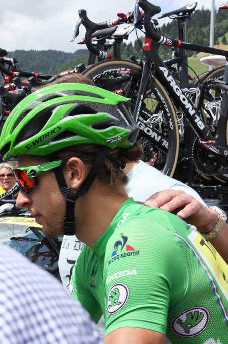 Peter Sagan at the 2016 Tour de France