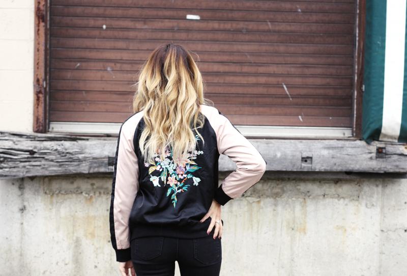 Floral Bomber Jacket - Quartz & Leisure
