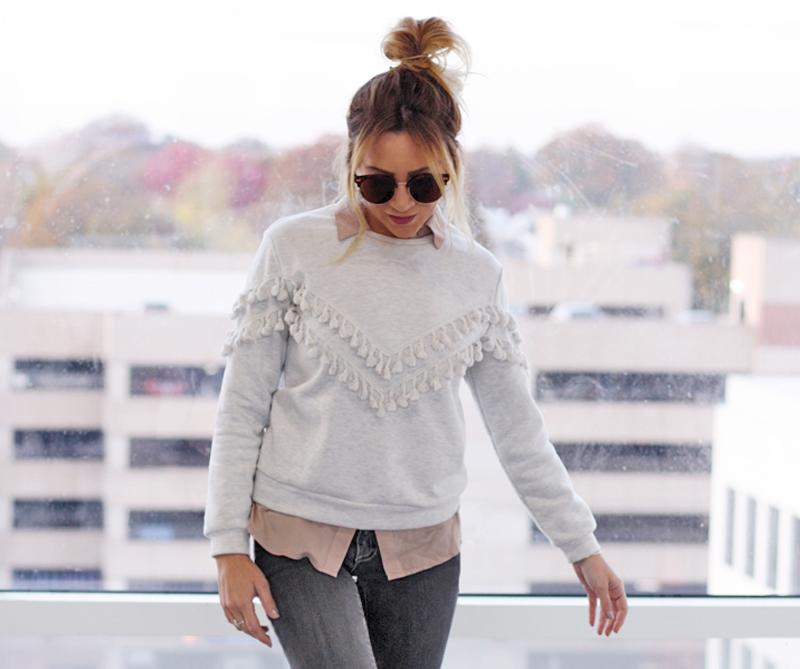 Tassel Sweatshirt