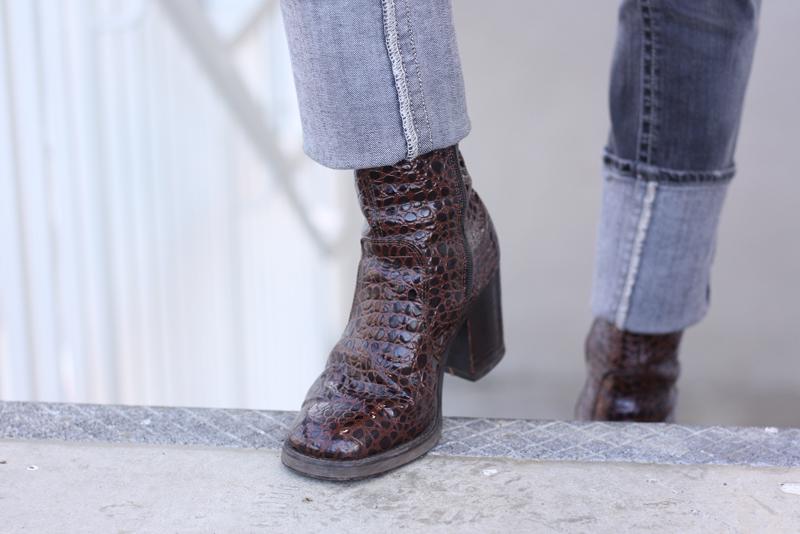 Crocodile Boots - Quartz & Leisure