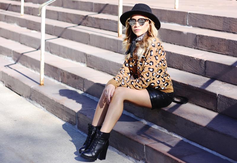 Leopard Print Sweater - Quartz & Leisure