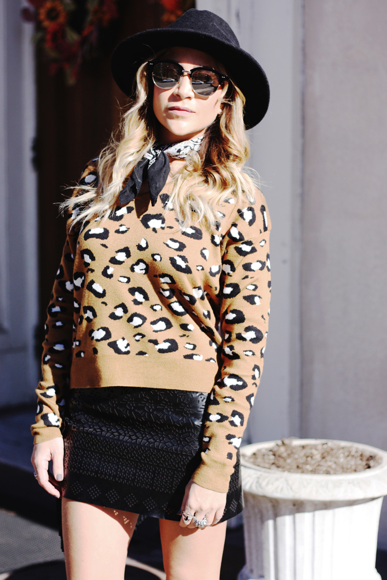 Leopard Print Sweater - Quartz & Leisure