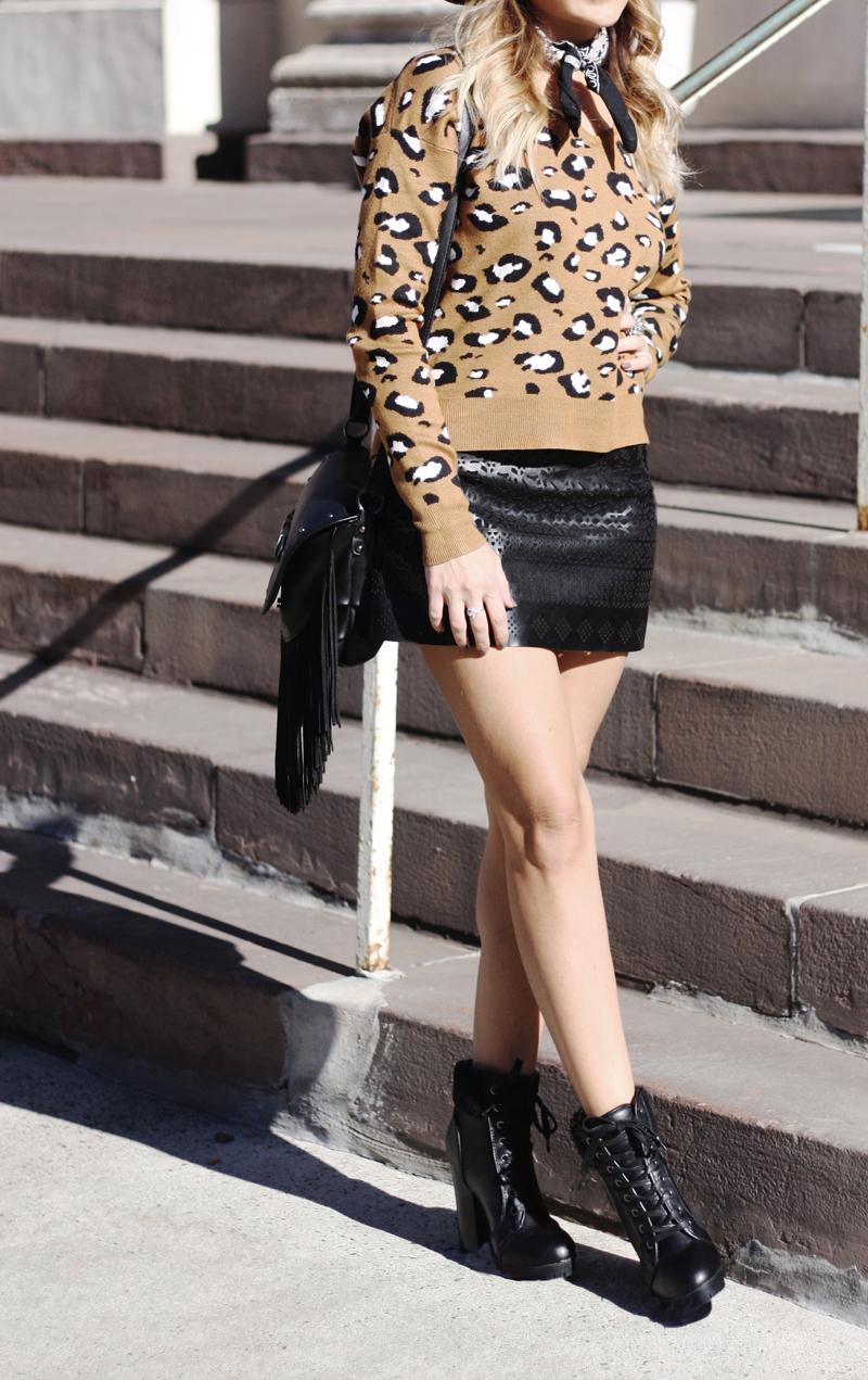 Leopard Sweater - Quartz & Leisure