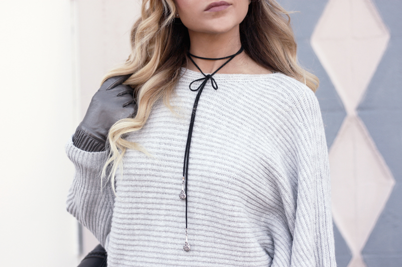 Grey Miss Selfridge Sweater - Quartz & Leisure