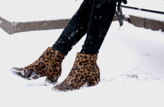 Snowstorm Chic with BlankNYC Moto Jacket - Quartz & Leisure