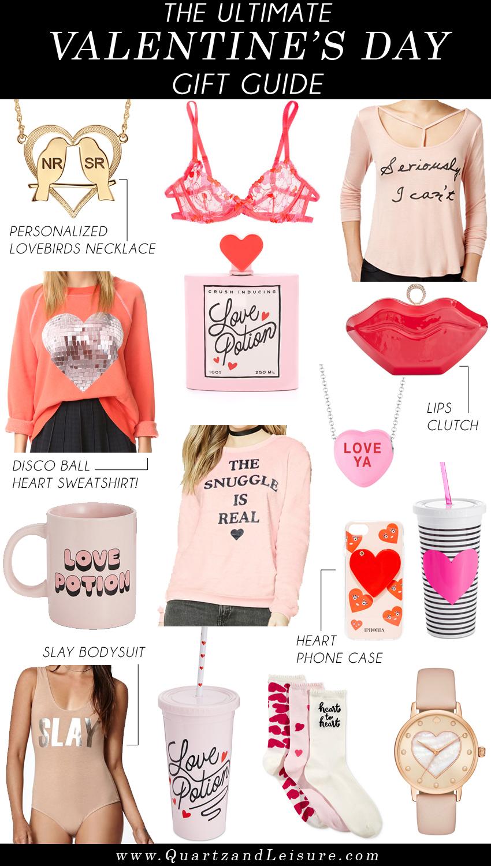 The Ultimate Valentine's Day Gift Guide - Quartz & Leisure