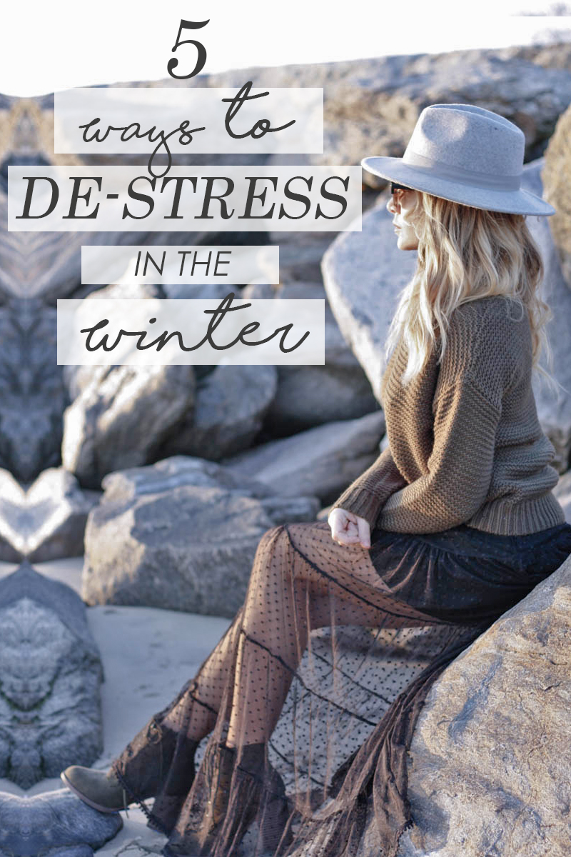 5 Ways to De Stress in Winter - Quartz & Leisure