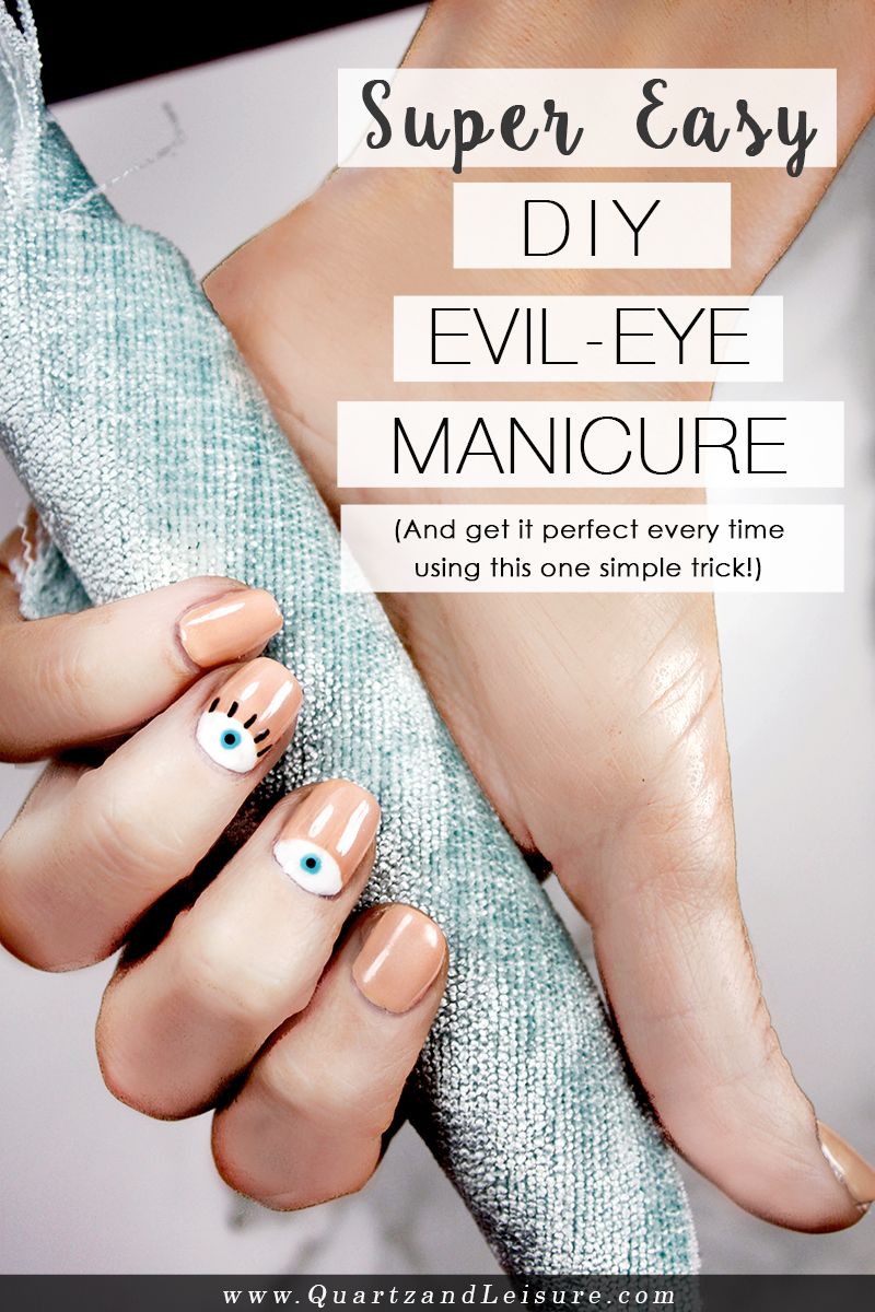 Evil Eye Manicure - Quartz & Leisure