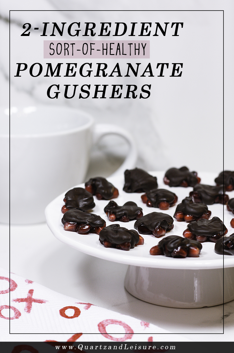 Pomegranate Gushers - Quartz & Leisure