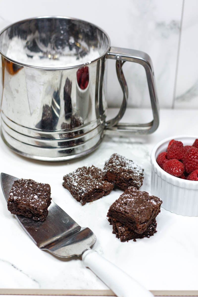 Vegan-Dairy Free-Gluten Free Brownies - Quartz & Leisure