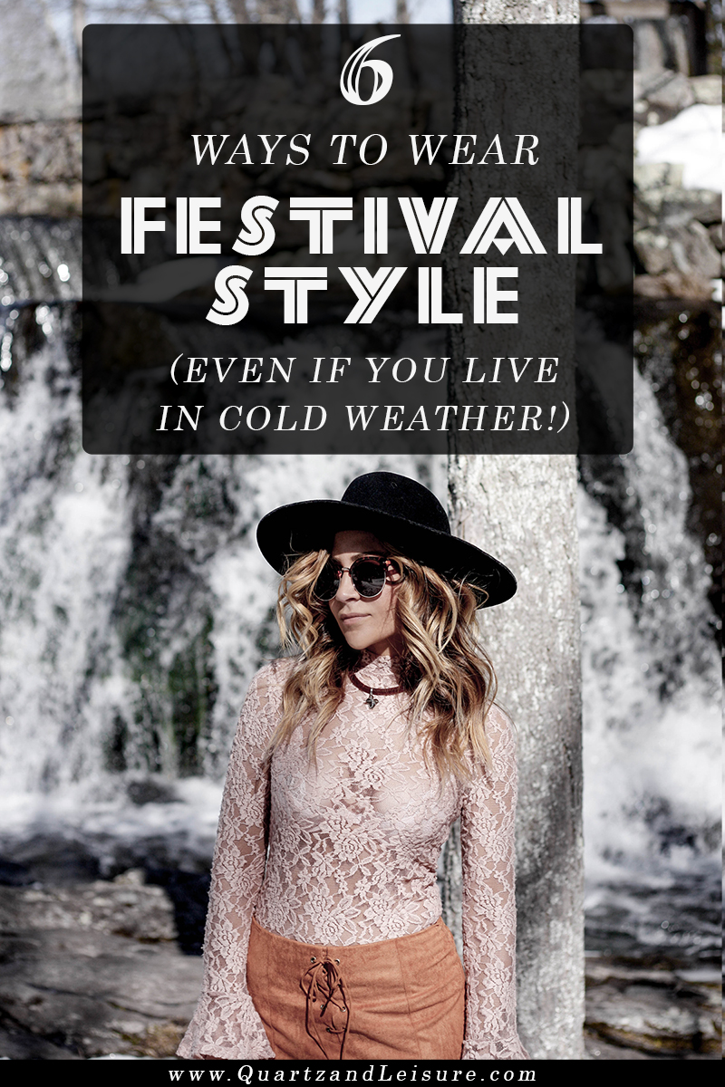 Festival Style in Cold Weather - Quartz & Leisure