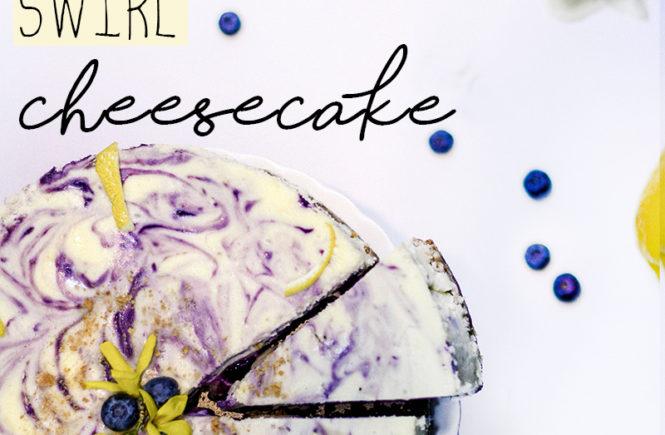 Lemon Blueberry Cheesecake - Quartz & Leisure