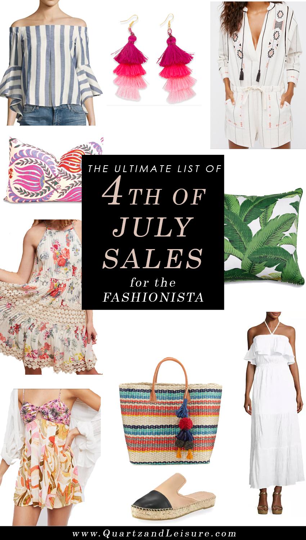 4th of July Sales - Quartz & Leisure