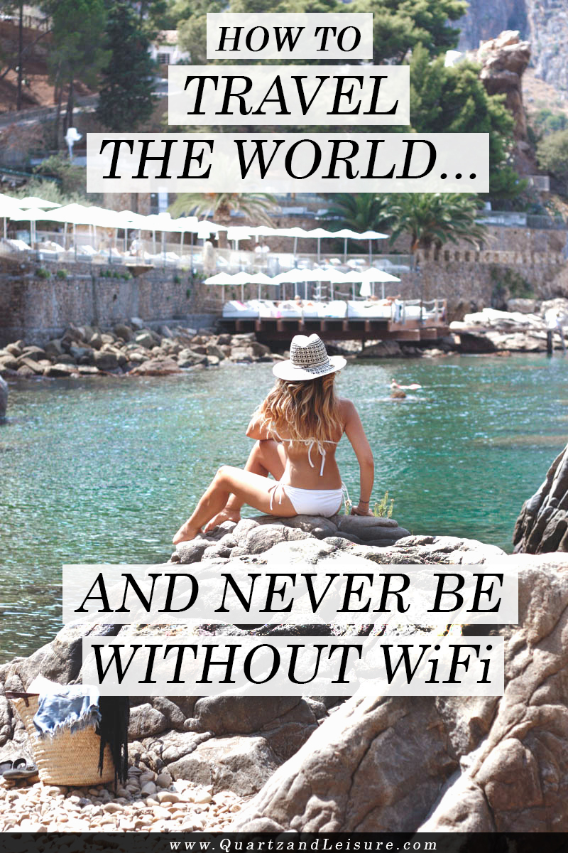 How to Travel the World and Never be Without #WiFi - Quartz & Leisure