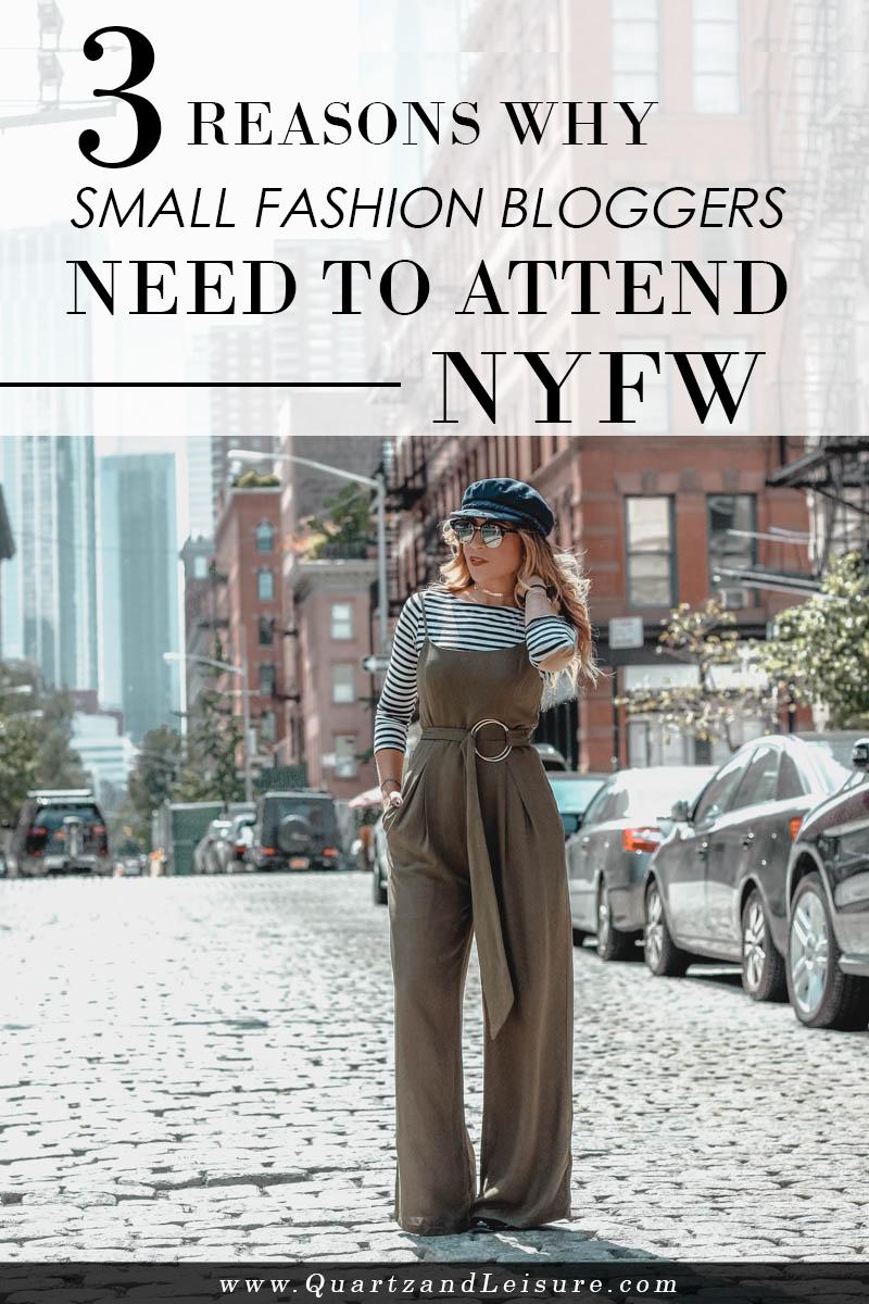 Why Small Fashion Bloggers Need to Attend Fashion Week - Quartz & Leisure