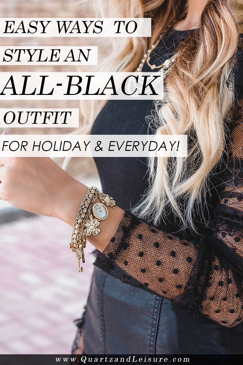 Easy Ways to Style Black