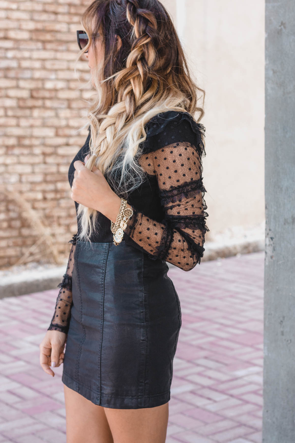 How to Style All Black for Holiday - All Black Outfit