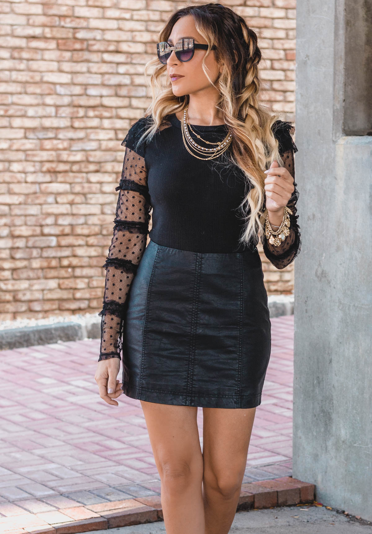 How to Style All Black for Holiday & Everyday