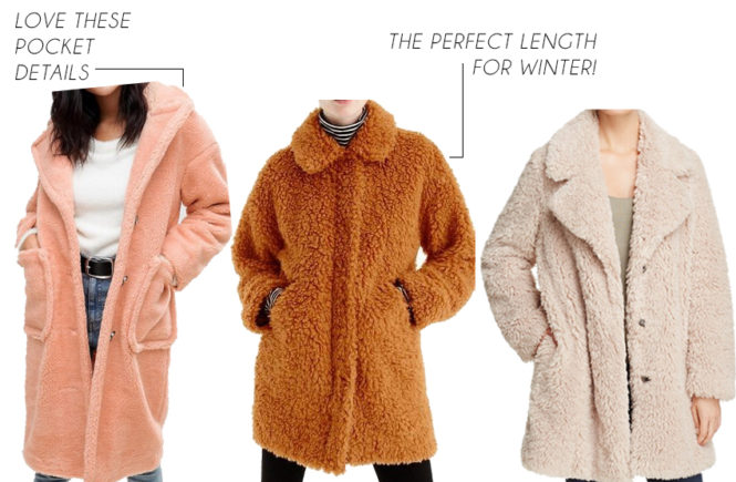 Teddy Bear Coats - Quartz & Leisure