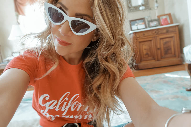 California Dreaming tee, Miss Selfridge