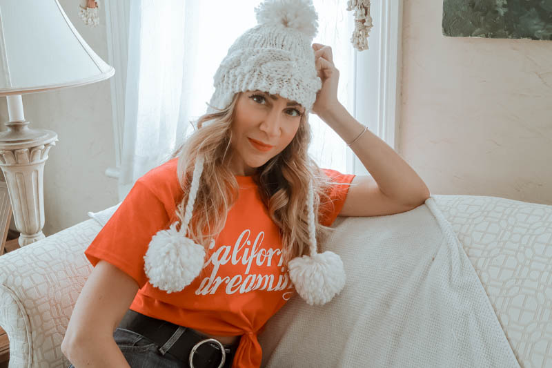 California Dreaming tee, Miss Selfridge