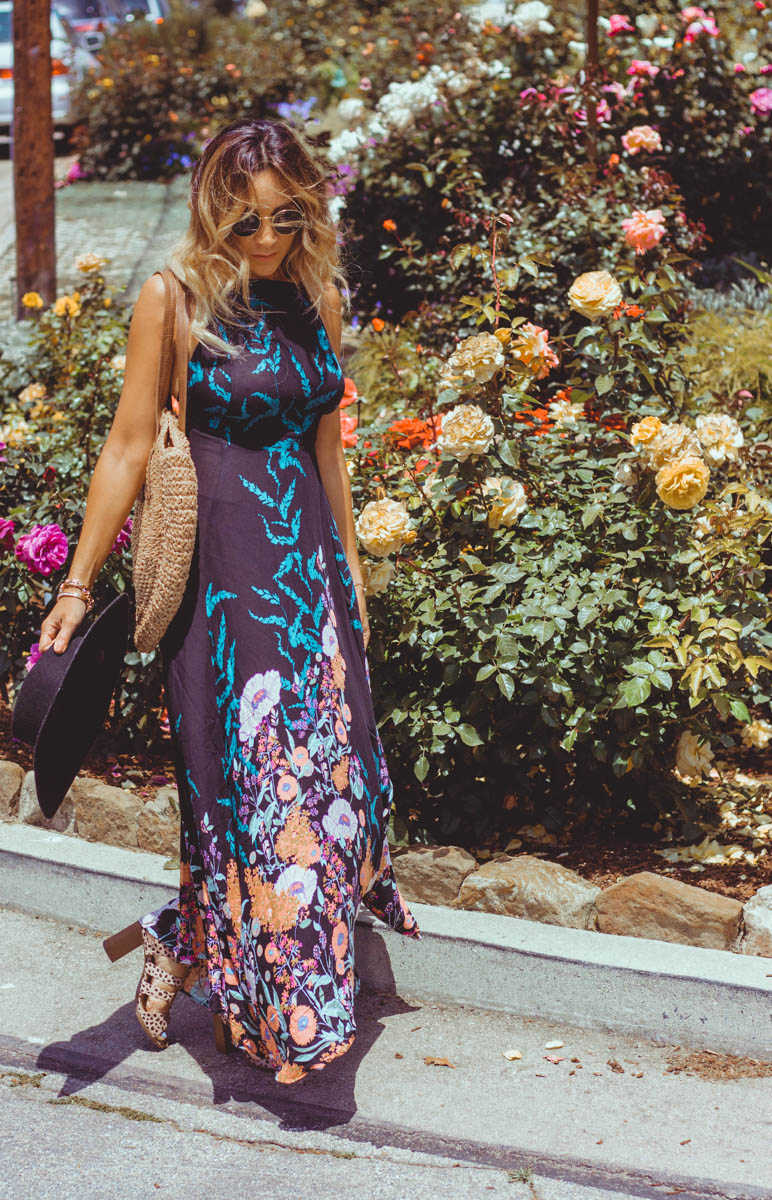 Free People Embrace It Dress, How to Wear Floral Print