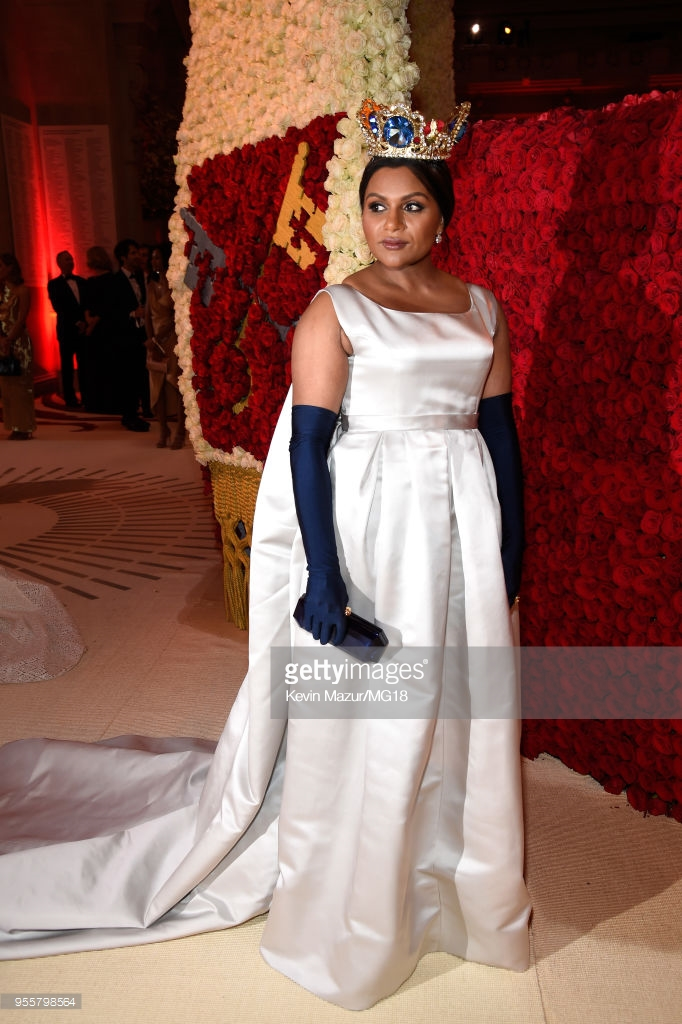 Mindy Kaling at the Met Gala 2018