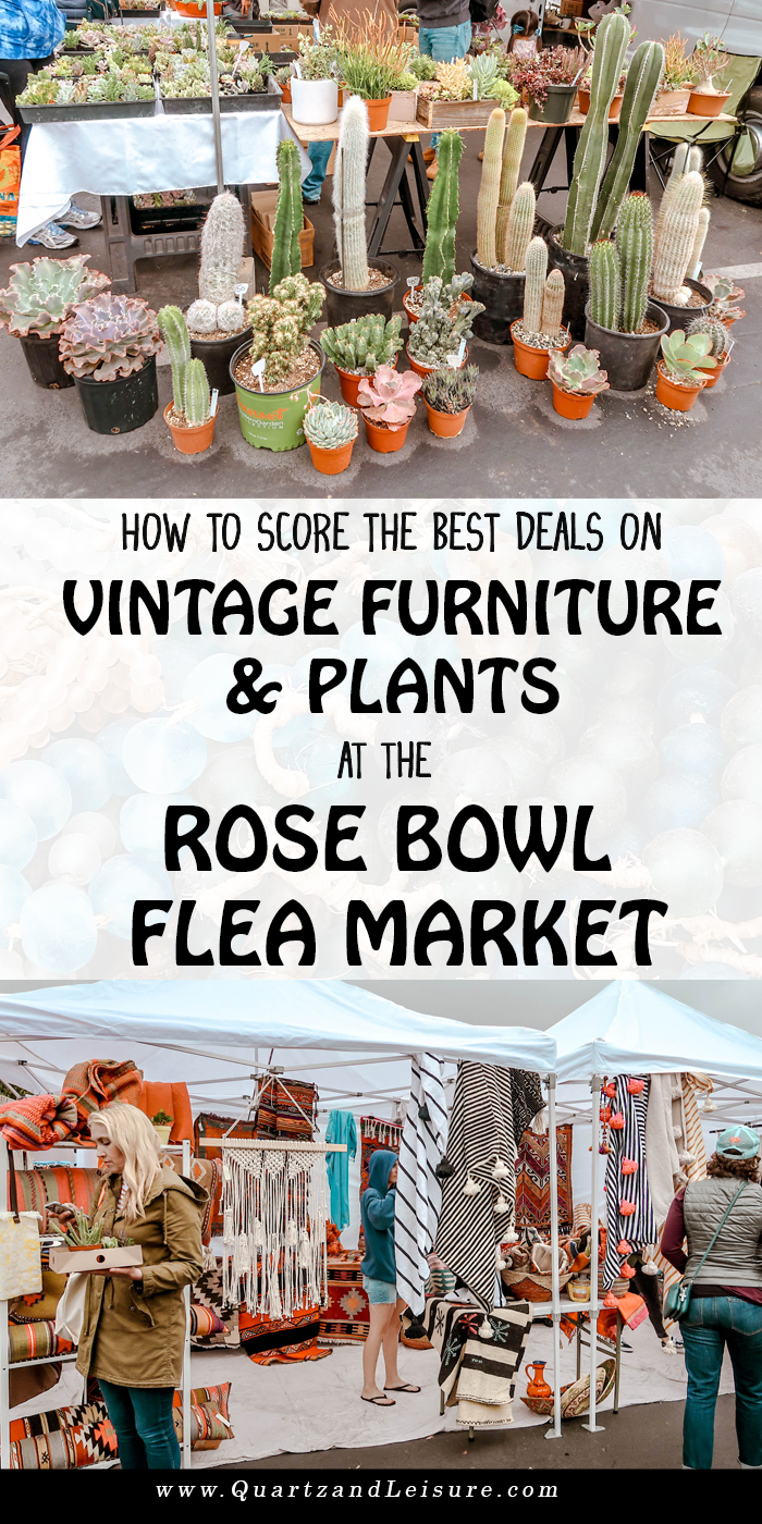 How to Shop for Furniture at the Rose Bowl Flea Market