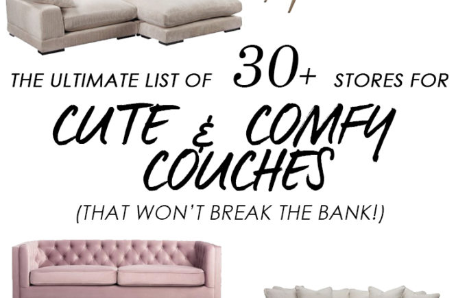 Where to Buy Couches