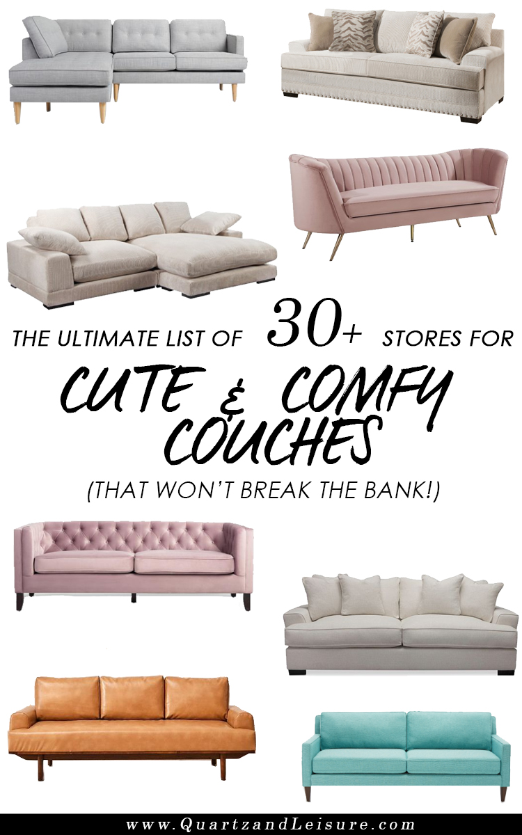 Where to Buy Cheap couches