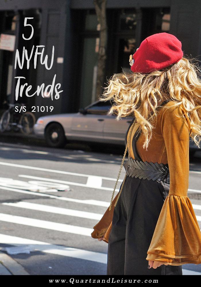 NYFW Trends SS 2019