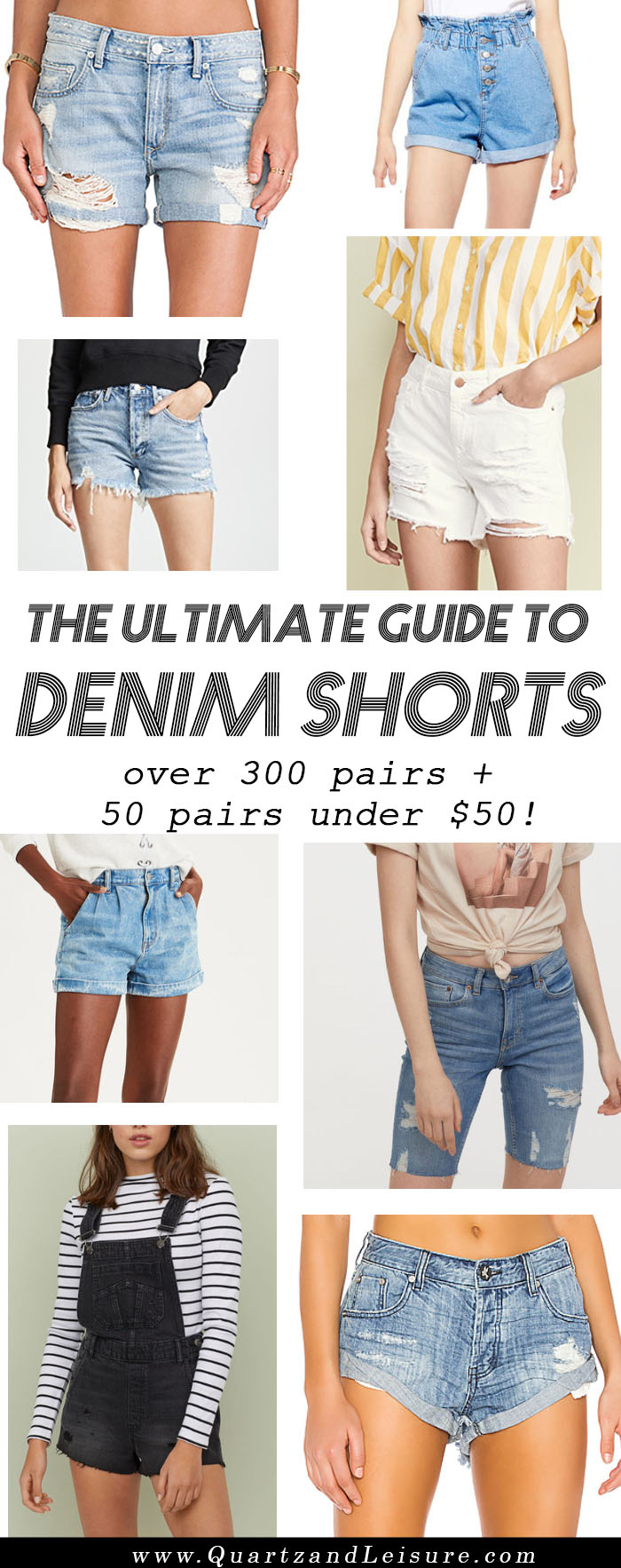 Guide to Denim Shorts