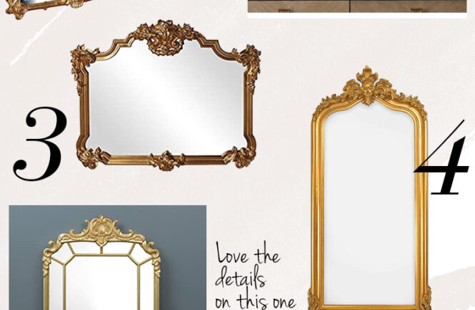 Anthropologie Mirror Dupe