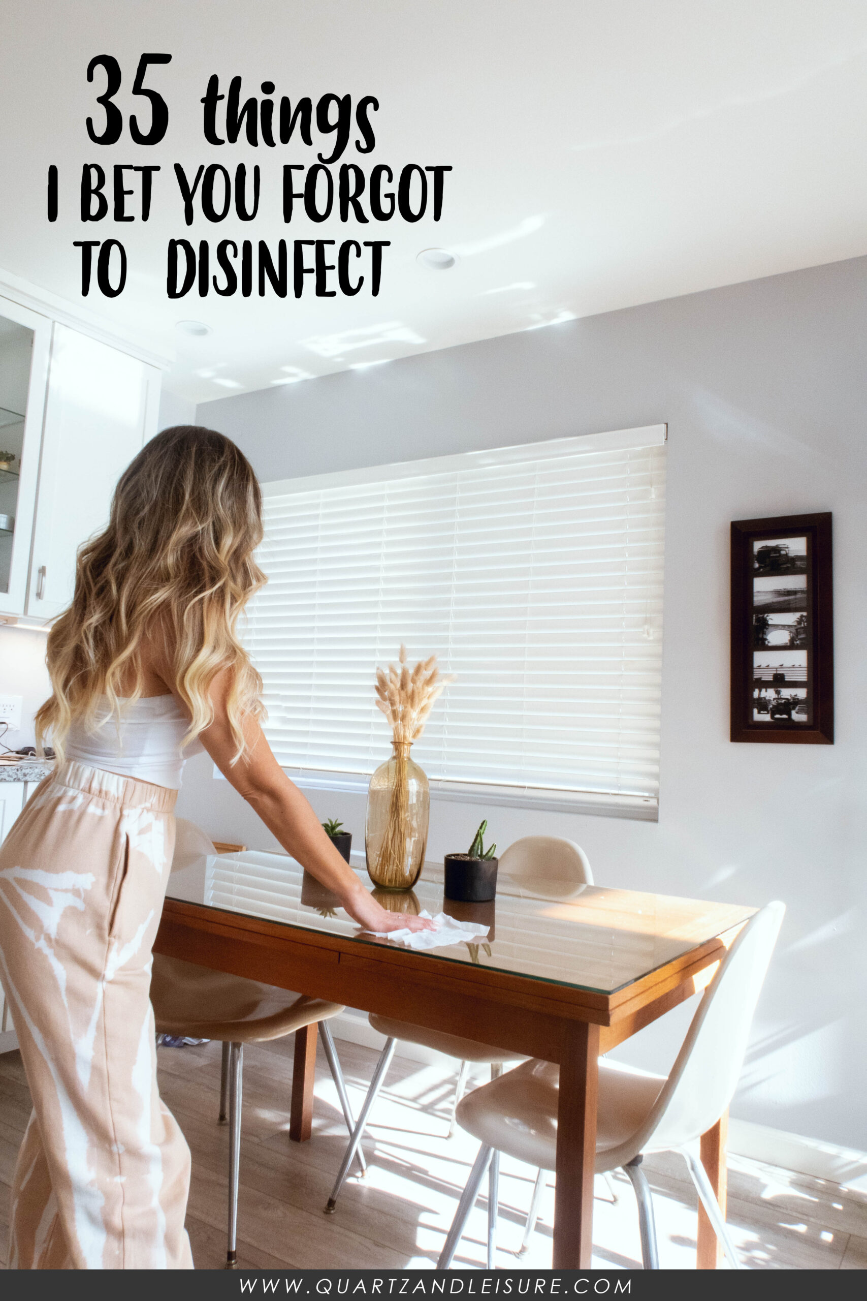 Things you forgot to disinfect