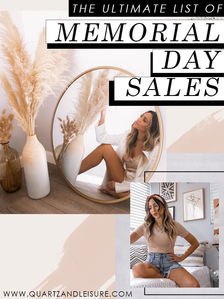 Memorial Day Sales List 2020