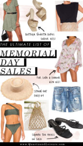 Memorial Day Sales List