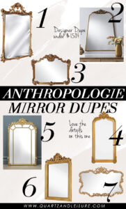 Anthropologie Mirror Dupes