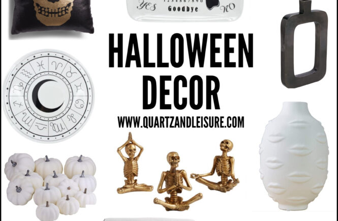 Modern Halloween Decor Thats Not Cheesy