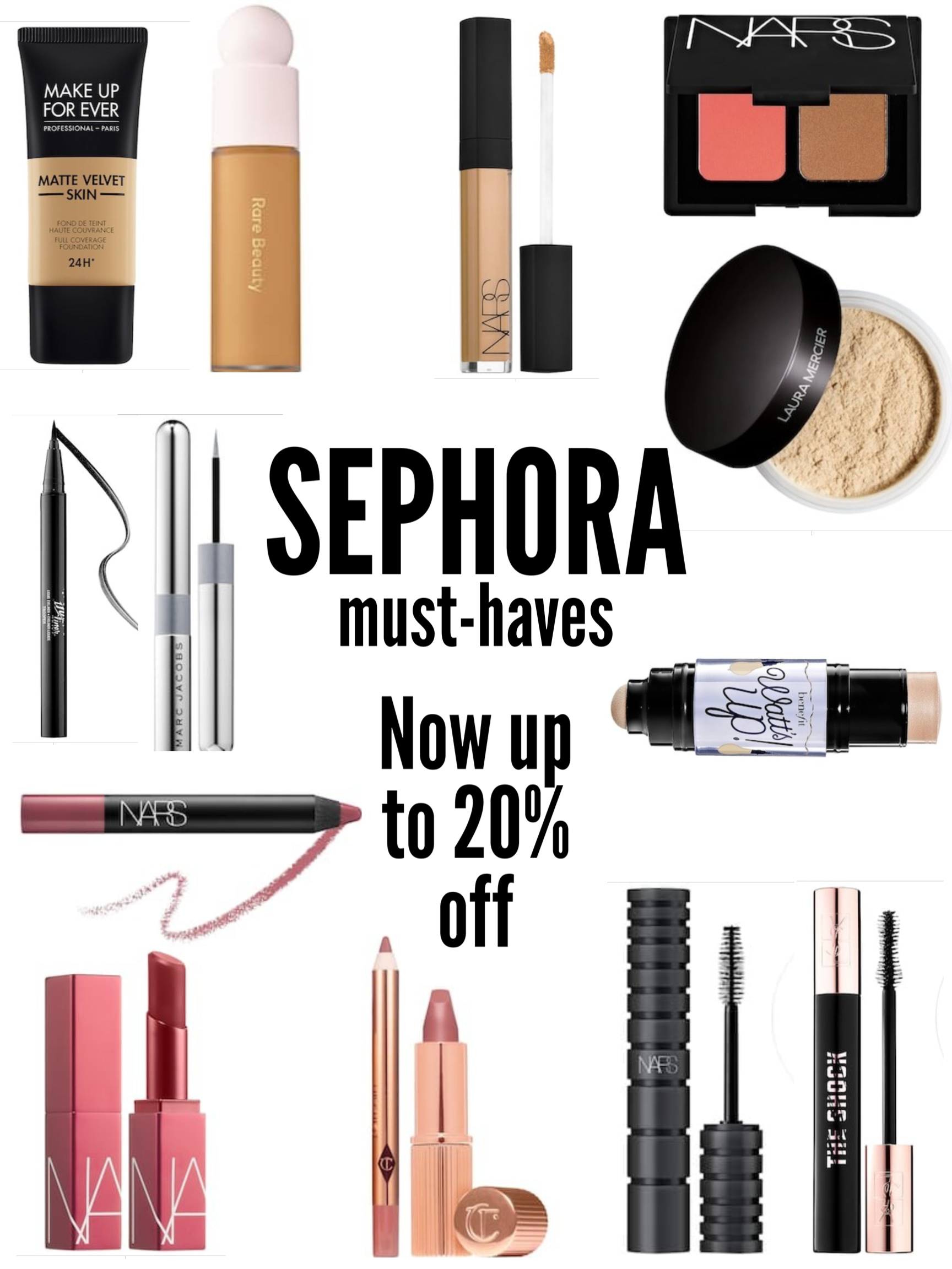 Sephora VIB Sale Makeup Must Haves