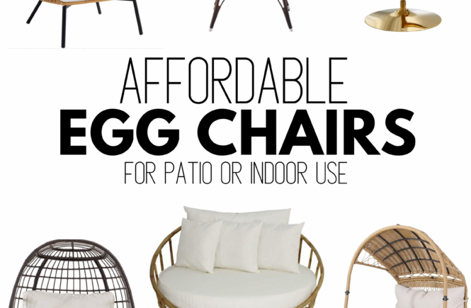 Cheap Egg Chair for Patio or Indoors