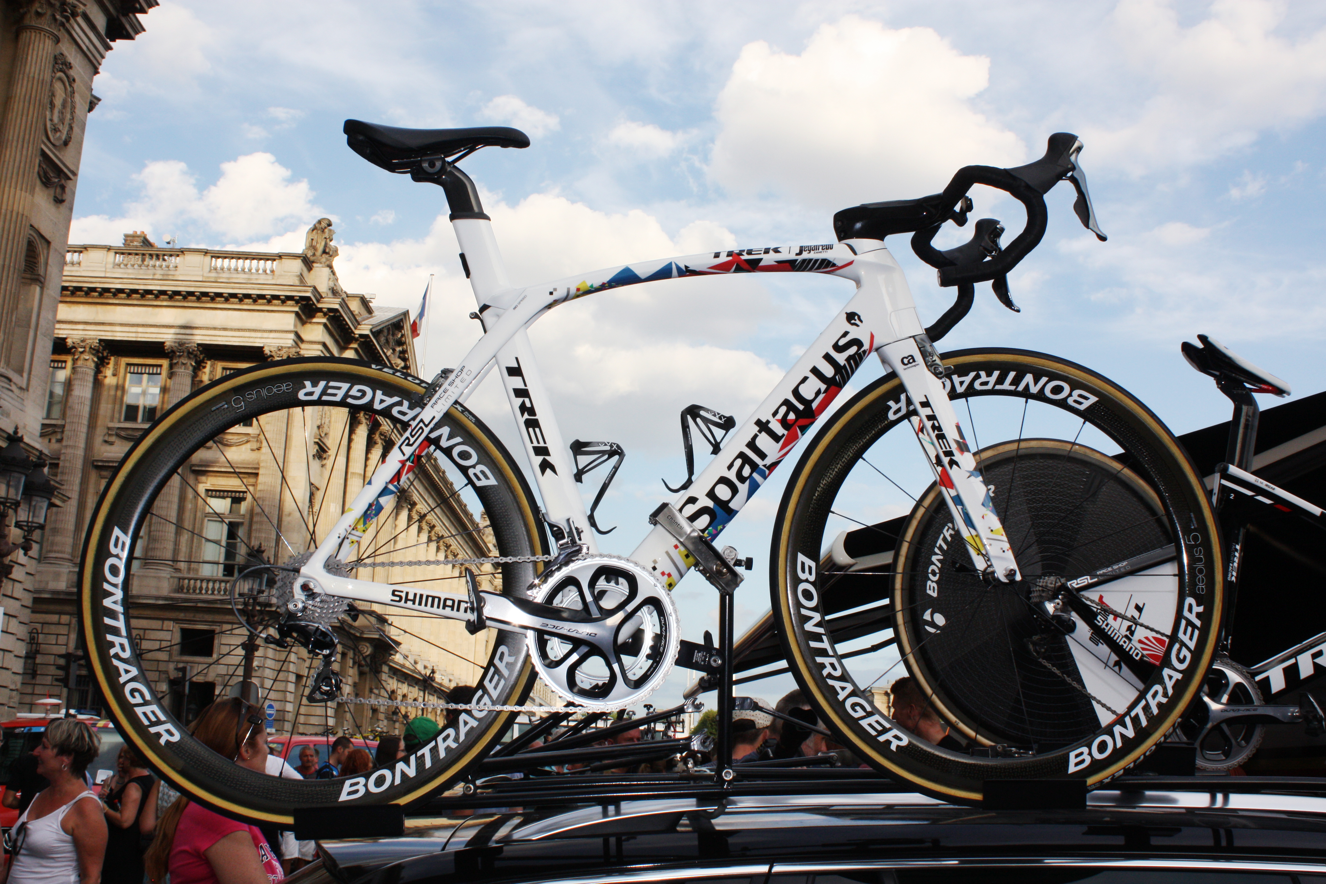 Fabian Cancellara TT bike Spartacus