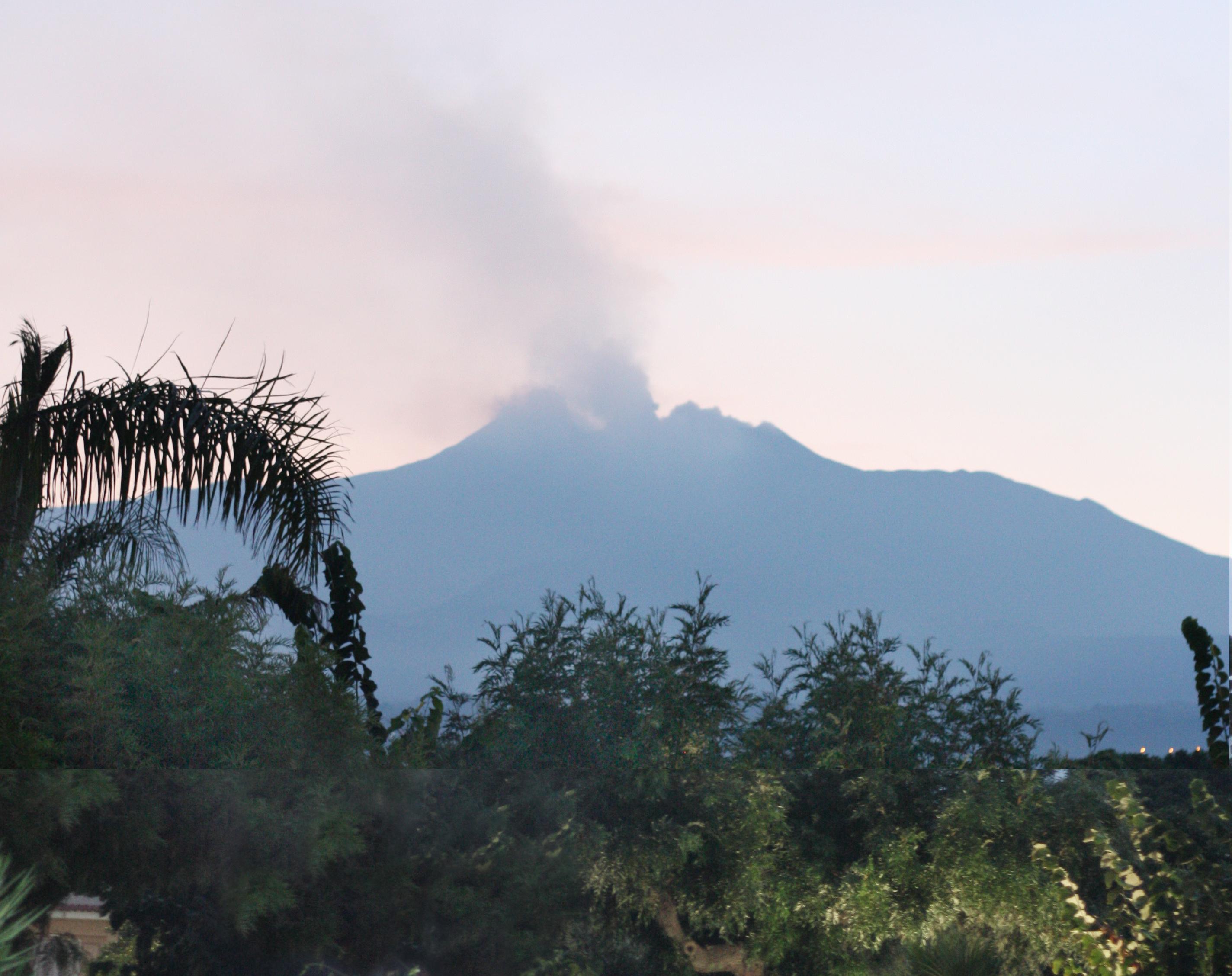 Mt. Etna ash