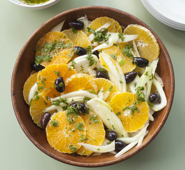 Sicilian Orange Fennel Salad